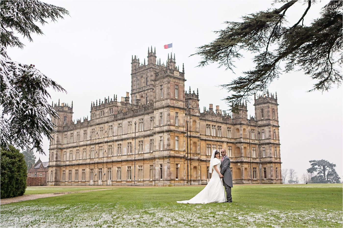 Highclere Castle AKA Downton Abbey Wedding – Lisa & Reaz ...